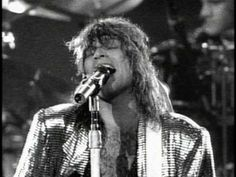 Bon Jovi - Wanted Dead Or Alive. He can sing to me ALL day and night! This was the concert I ever went to.Bon Jovi and Cinderella-Downtown Dallas, Tx Reunion Arena 80s Music, Rock Music, Music Songs, Music Videos, Reggae Music, Bon Jovi Videos, 80s Hair Bands, We Will Rock You, Jon Bon Jovi