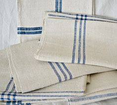 Torchons (kitchen towels)