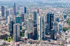 Frankfurt, San Francisco Skyline, Maine, Travel, Places, Skyscraper, Viajes, Destinations, Traveling