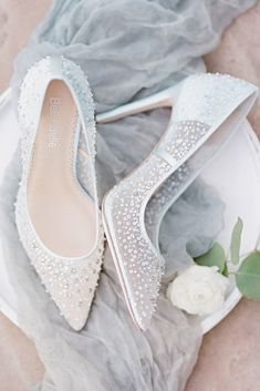 Hottest Wedding Shoes Trends 2018 For Brides ❤️ wedding shoes trends white h. Hottest Wedding Shoes Trends 2018 For Brides ❤️ wedding shoes trends white high heels bling hand beaded illusion bella belle 2018 elsa blue ❤️ See more: www. Wedding Shoes Bride, Wedding Boots, Bridal Heels, Bridal Lace, Lace Wedding, Summer Wedding, Bella Wedding, Floral Wedding, Dream Wedding