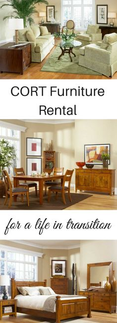 CORT Furniture Rental. Services And Solutions For A Life In Transition.  #CORTatHome #