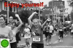 My race mantra