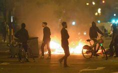Płonie wschodni Londyn! Miasto ogarnęły gwałtowne zamieszki (FILM)