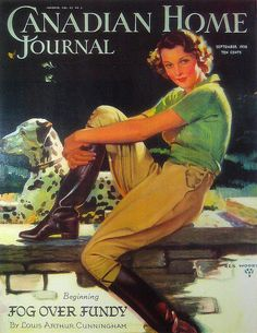 Canadian Home JournalIllustrated by Rex WoodsSeptember 1936
