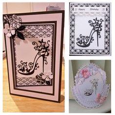 yanQxIzbiu Cutting Die Silver Rose Corner Side Metal Cutting Dies DIY Scrapbooking Paper Cards Album Stencil