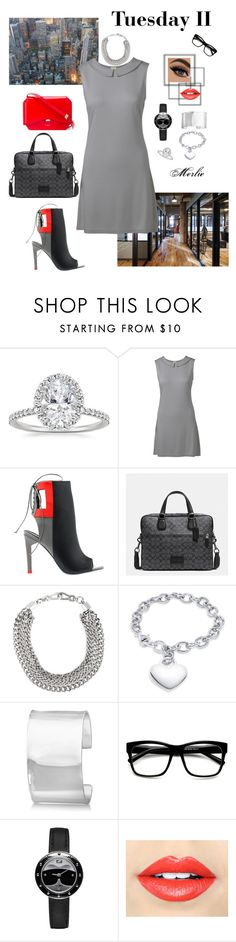 """Tuesday II"" by mduncan0417 ❤ liked on Polyvore featuring Waverly, Alepel, DKNY, Allurez, ZeroUV, Fendi and Fiebiger"