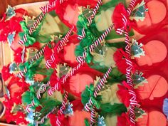 Christmas Soaps with Swirly Ornaments...perfect for secret Santa, teachers gifts or stocking stuffers.