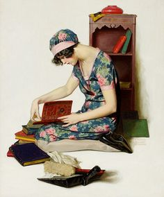 1920s Memories by Walter Beach Humphrey (1892-1966). Journeyman Illustrator and muralist, who won assignments from the art editors of nearly all of the major publications of the day, including including the Saturday Evening Post, Ladies Home Journal, American Magazine, among others.