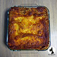 Avec cette recette, ajoutez une touche d'originalité aux lasagnes à la bolognaise.