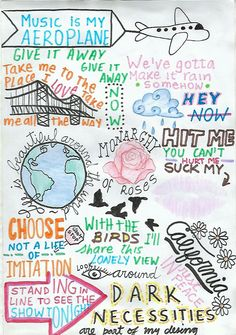 Red Hot Chili Peppers drawing Songs, fan art, RHCP