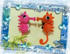 DIY fun craft tutorial pipe cleaner seahorse手工教學:毛根海馬