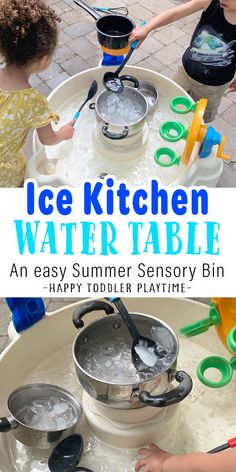 Outdoor Activities For Toddlers, Kids Learning Activities, Summer Activities For Kids, Outdoor Water Activities, Kids Obstacle Course, Magic For Kids, Toddler Play, Toddler Learning, Sensory Bins