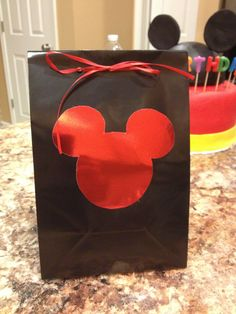 Mickey Mouse goody bags