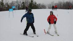 Every winter we go skiing at Earl Bales Park and it's always a great day! The park has fantastic ski instructors who make sure that all of our skiers have a successful day on the hill, regardless of skill level.