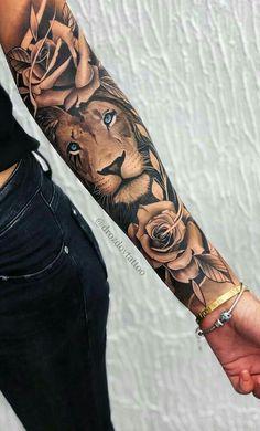 tattoos on back for women * tattoos on back ; tattoos on back of arm ; tattoos on back for women ; tattoos on back of neck ; tattoos on back shoulder ; tattoos on back of ankle ; tattoos on back of leg ; tattoos on back of arm above elbow Forarm Tattoos, Body Art Tattoos, Girl Tattoos, Tatoos, Leo Lion Tattoos, Lion Arm Tattoo, Rose Tattoo Forearm, Badass Tattoos, Lion Finger Tattoos