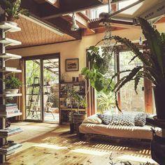 An Earthy Japanese Home...