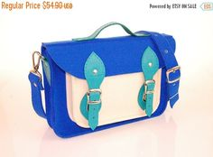 Christmasinjuly Felt Laptop 17 inch bag with pocket satchel