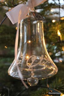 Blomkje en Wenje christmas tree glass bell Riviera Maison