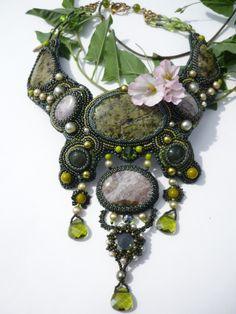 Gallery.ru / Photo # 5 - Necklace Wisdom forest - Chikineva