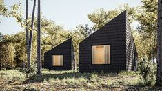 Architect Marc Thorpe has revealed designs of a cabin hotel in Romania, featuring off-grid wooden lodges informed by rural vernacular architecture. Wooden Lodges, Wooden Cabins, Hotels In Romania, Canton House, Cedar Cabin, Wooded Landscaping, Off Grid Cabin, Wood Shingles, Vernacular Architecture