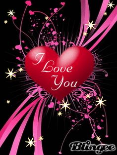 Animated I Love You Heart And Star Cell Phone Wallpapers 240x320 ...