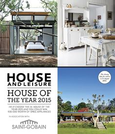 Vote in our House of the Year 2015 competition and win!