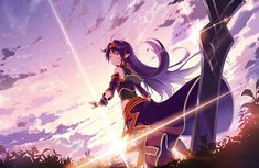 If you like to customize playmat with your own image, check out our Custom Playmat. Sword Art Online Kirito, Sword Art Online Pc, Arte Online, Online Art, Sword Art Online Wallpaper, Art En Ligne, Castle In The Sky, Female Anime, Wallpaper Pc