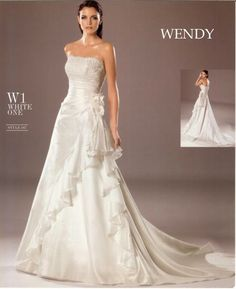 WENDY One Shoulder Wedding Dress, Wedding Dresses, Fashion, Suits, Boyfriends, Bride Dresses, Moda, Bridal Gowns, Fashion Styles