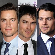 christian grey candidates...no question for me...The man in the middle Ian Somerhalder works for me
