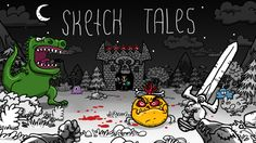 A complete review of the indie sandbox adventure game, Sketch Tales. It's in early access and its development team, 8D Studio, is working hard towards a full release.
