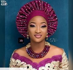Beautiful Wedding Guest Gele Styles Stylish & Popular