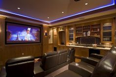 Craftsman Home Theater - Found on Zillow Digs. What do you think?