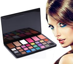Fusicase 24 colors Eyeshadow Makeup Cosmetic Palette Combination with 3 Colors Concealer and 3 Colors Blush Set -- Check this awesome product by going to the link at the image.
