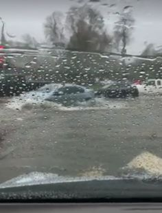 Flooding, Road Closures As Heavy Rains Fall On Saturated Ground