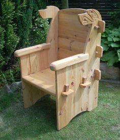 details zu steckstuhl larp wikinger stuhl einmalige. Black Bedroom Furniture Sets. Home Design Ideas