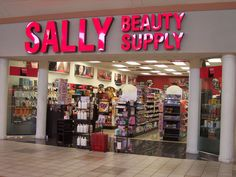 sally beauty supply! i can spend a good hour there
