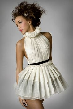 Silk Organza Maiden Dress - Adorable!!!