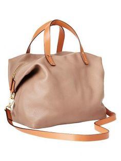 71c9392fe4ec GAP Leather satchel 89.95€ Gap Handbags