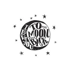 ...to the moon and back by Matthew Taylor Wilson for Minted