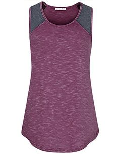 "Women Casual Shirts and Blouse,Messic Women's Fashion 2017 Contrast Color Sleeveless Scoop Neck Tank Top Tunic Tee(Medium,Magenta)   Special Offer: $23.99      444 Reviews For More Fashion Clothes, Search Amazon for ""Messic "" Messic Apparel is One of the Online Retailers..."