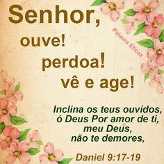 Promessas para hoje: Misericórdia de Deus-Daniel 9.17-18