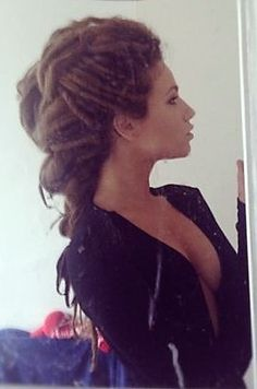 Cl Y Y Updo For Dreads