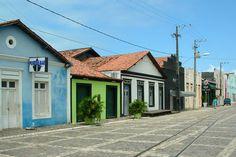 Natal, Rio Grande do Norte, Brasil - Rua Chile, na Ribeira
