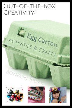 Egg Carton Crafts & Activities