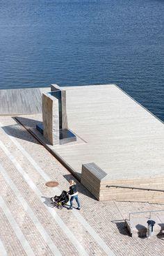 Fisktorget Plaza | Karlskrona Sweden | Thorbjörn Andersson with Sweco Architects « World Landscape Architecture – landscape architecture webzine