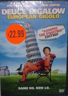 Rob Schneider Eddie Griffin in Deuce Bigalow European Gigolo Assume Position DVD