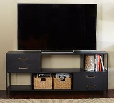 """Wilson Media Console - Pottery Barn 