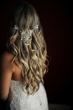 hair with beautiful accessories