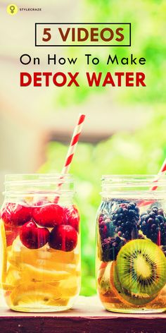 The latest diet craze to take off in recent years, drinking the detox water,has become quite popular in a short span of time.
