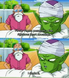 PICCOLO! HOW COULD YOU!?